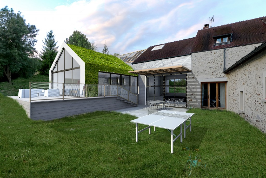 Pm4 oldxgarden for Extension piscine couverte